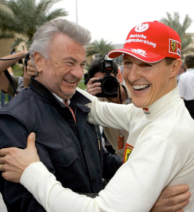 'His wife hides the truth': Former Michael Schumacher manager