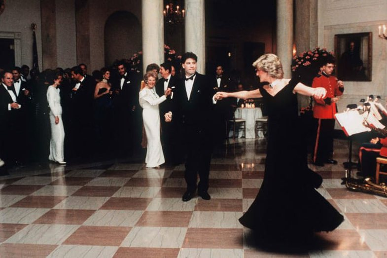 Lady Diana's Controversial Dress: What Happened When She Dance With John
