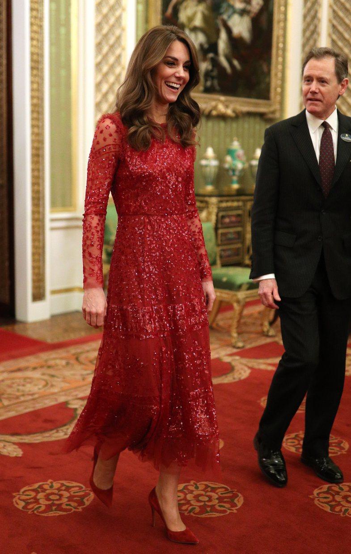 Pak vëmendje për fustanin dimëror të Kate Middleton