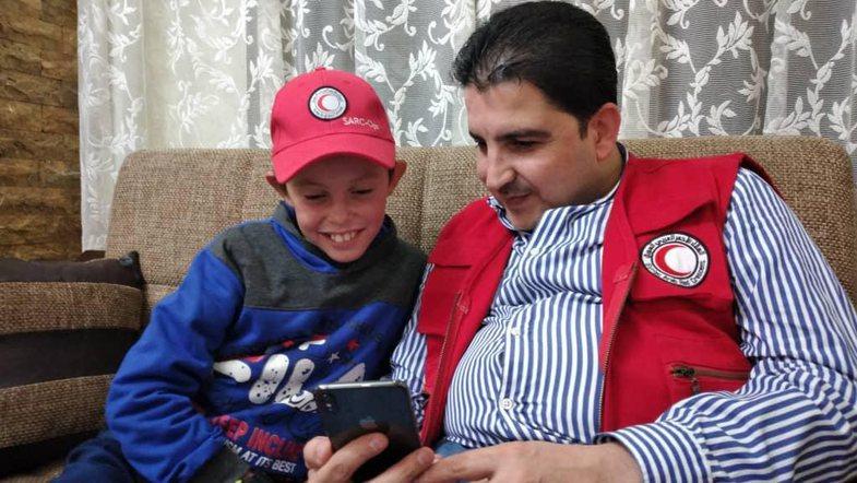 Fotot e Alvin Berishës 3 muaj pas shpëtimit nga Siria do t'ju