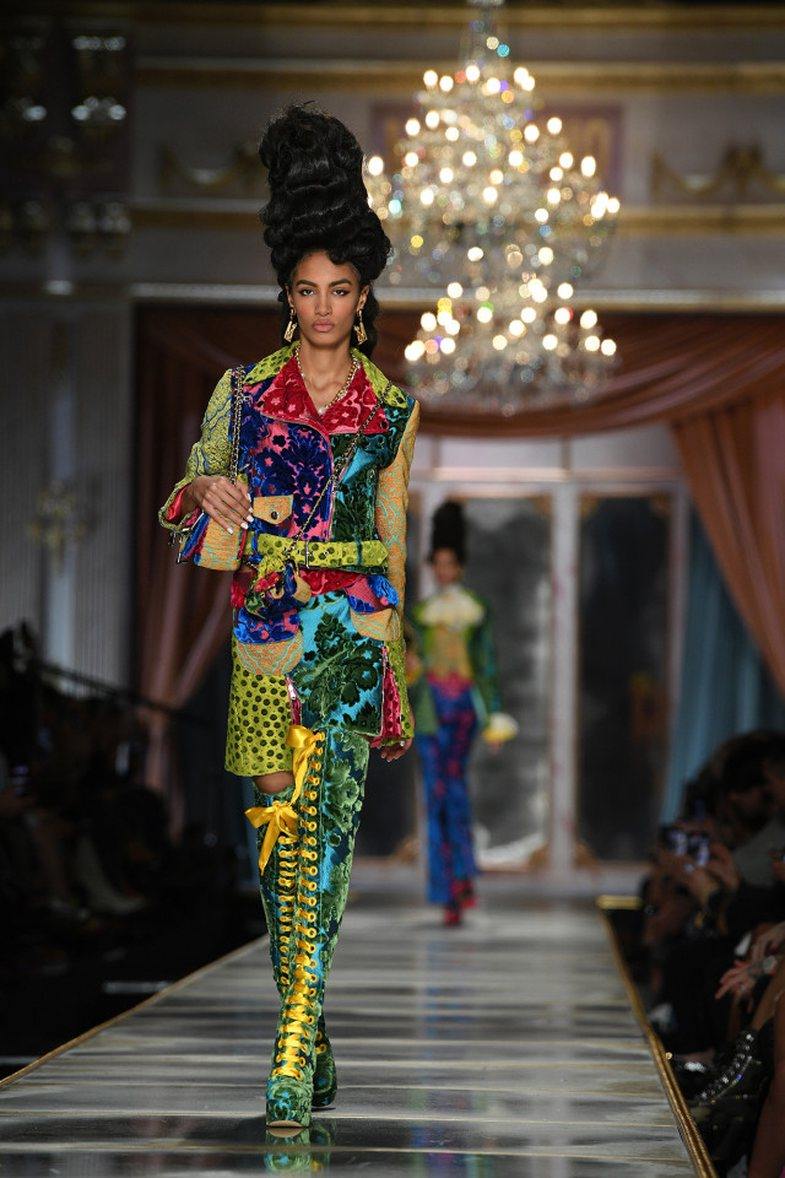 Jeremy Scott's unusual inspiration for the Moschino Autumn 2020