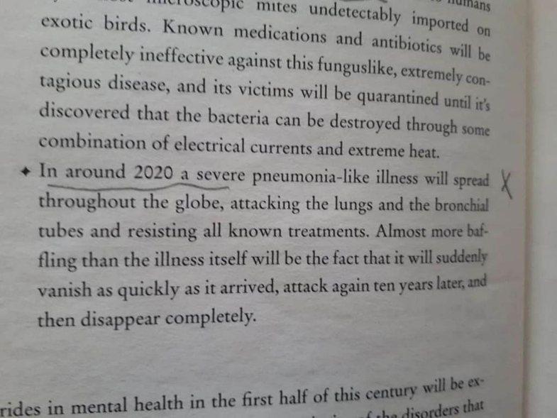Thonë që ky libër parashikoi koronavirusin 39 vite më