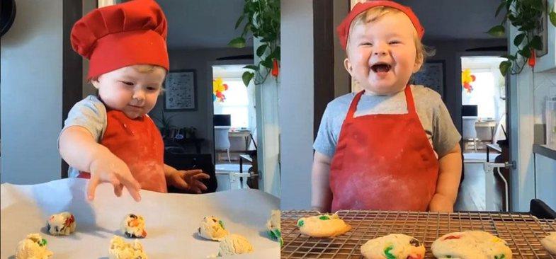 Njihuni me chef-in 1-vjeçar që ka plot 1 milion ndjekës në