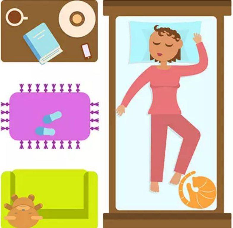 Pozicionet më të mira dhe më të këqija të gjumit