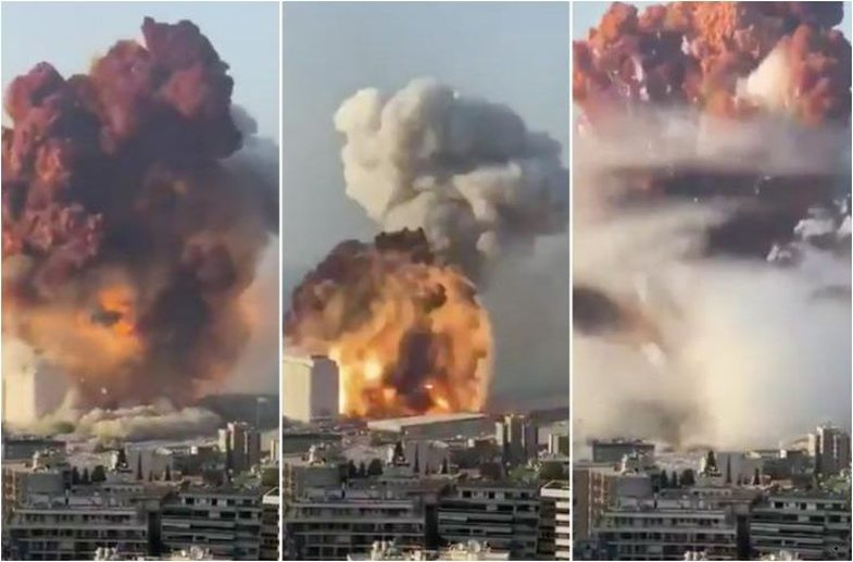 Question marks about the explosion in Beirut