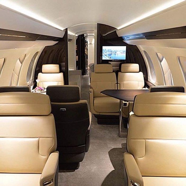 Brenda avionit privat $72 milionë, të Kylie Jenner