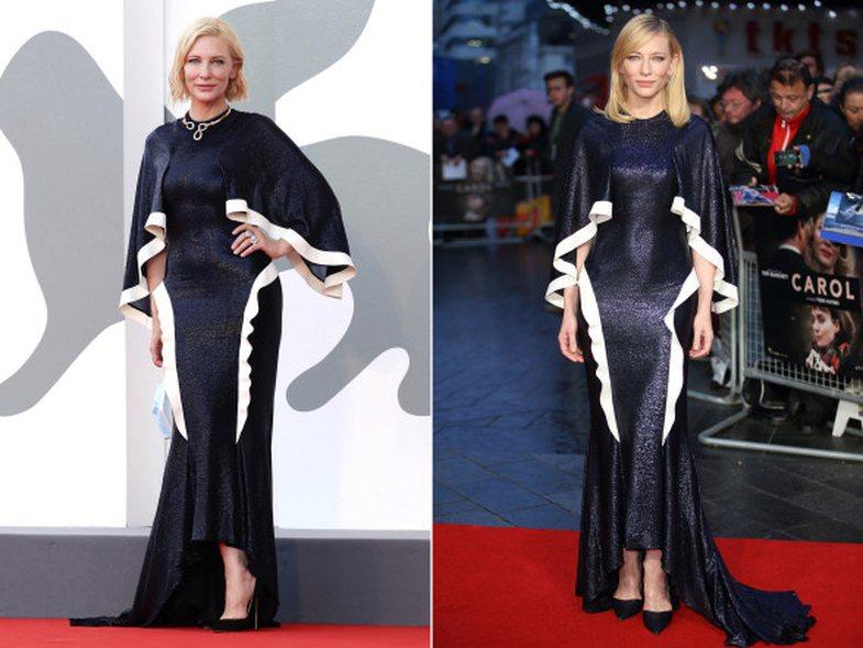 Cate Blanchett jo vetëm që s'e ka problem të veshë