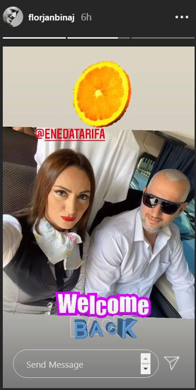 Eneda Tarifa rikthehet zyrtarisht në 'Portokalli'