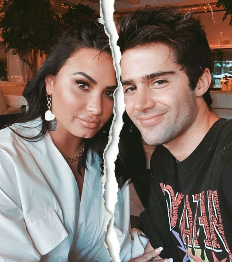 Demi's ex-fiancé says he heard the news of the separation from the
