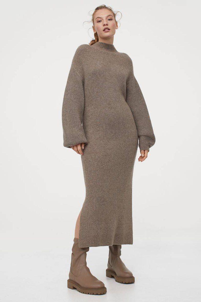 Kombinimet e fustaneve me çizme, që funksionojnë