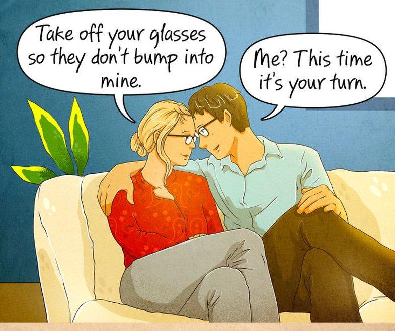 16 situata që vetëm njerëzit me syze optike, mund t'i