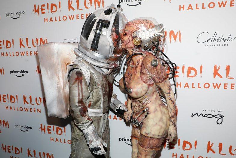 Heidi Klum, mbretëresha e Halloween-it, sapo e çoi lojën