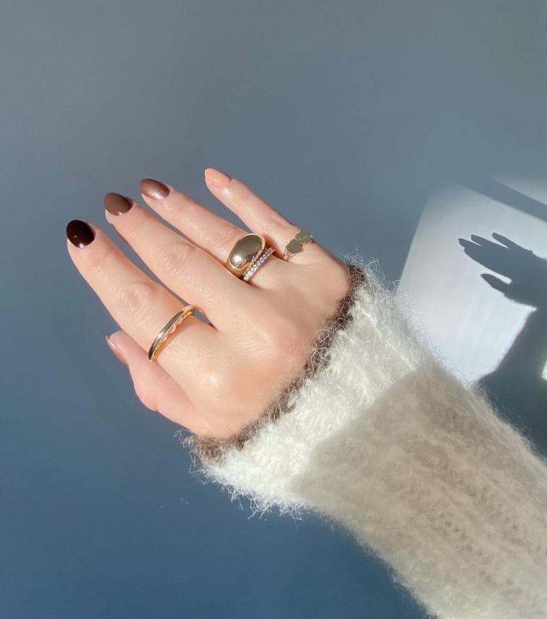 20 ide për thonj dimri, që sapo t'i shihni, do doni t'i
