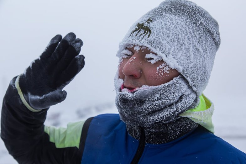 Ja si duket qyteti më i ftohtë në botë