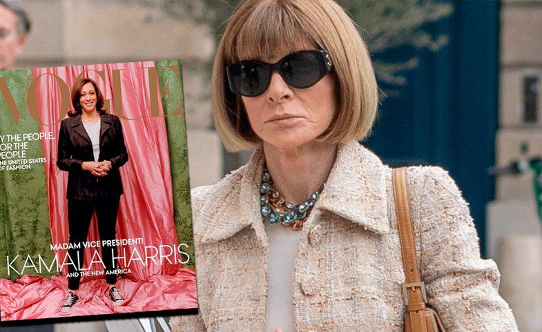 Kopertina tmerrësisht e kritikuar e Kamala Harris për Vogue: