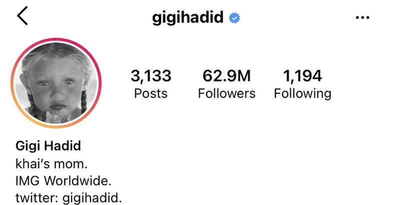 Kuptimi i veçantë pas emrit që Gigi Hadid zgjodhi për