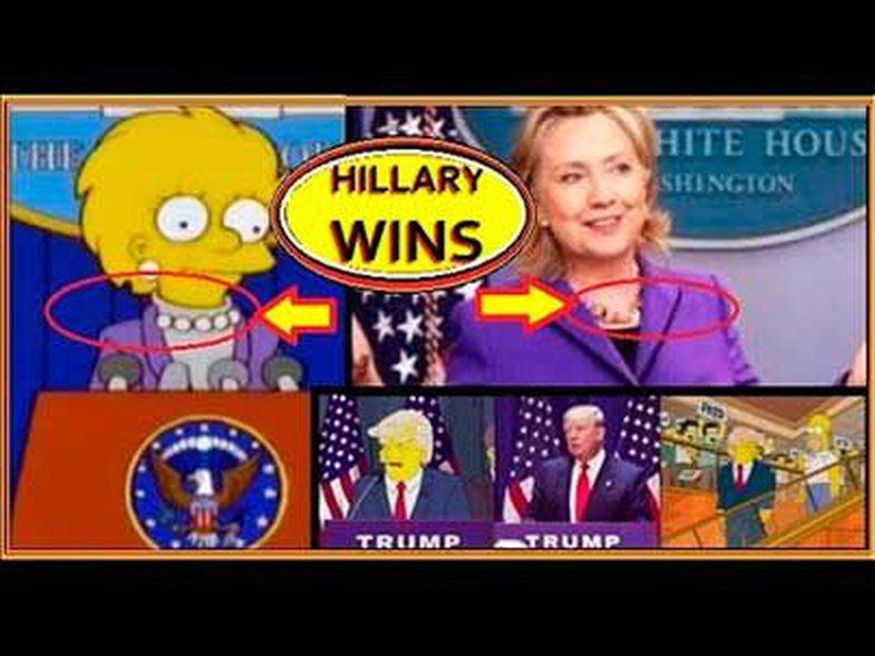 Përsëri, Simpsons 'parashikoi' veshjen e përurimit