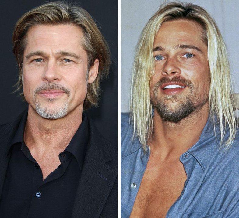 Burrat seksi që ndryshuan (për mirë) pasi lyen flokët!