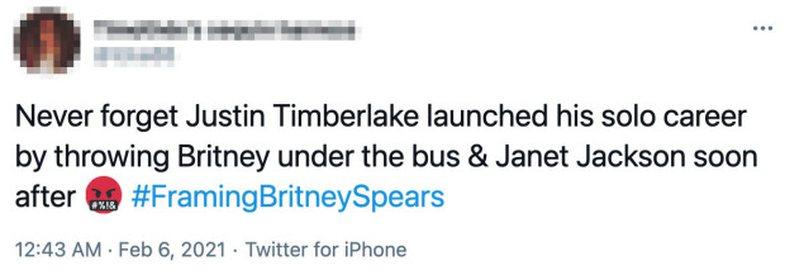 Fansat e Britney Spears kritikojnë Justin Timberlake: