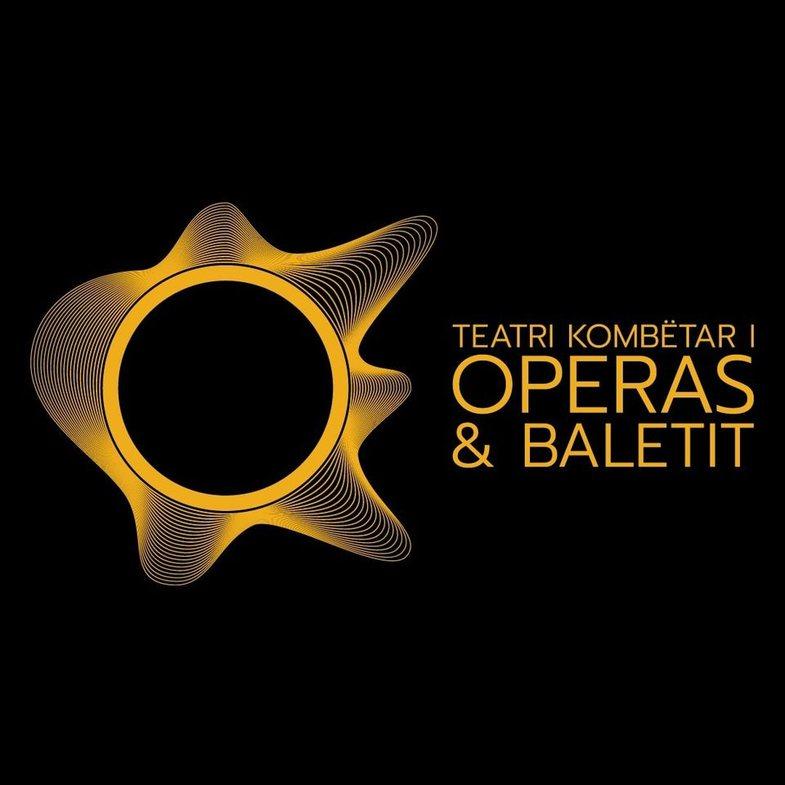 Logoja e vjedhur e Teatrit Kombëtar të Operas dhe Baletit që