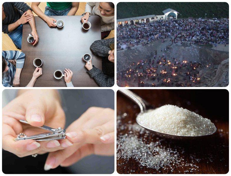 Kontroll për thonjtë, sheqer, ujë nga Kisha e Laçit: 20+
