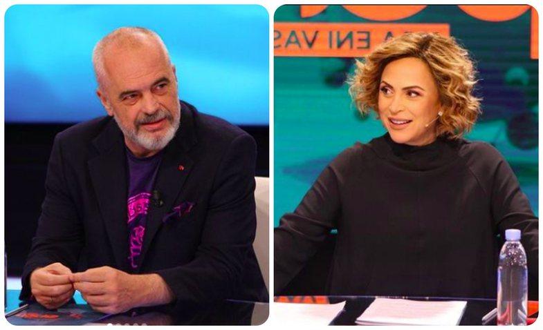 Eni Vasili konfirmon shtatzëninë pasi kryeministri Rama ia zbuloi