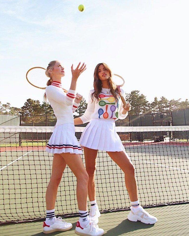 'Veshjet e tenisit' janë zyrtarisht trend i këtij viti, edhe
