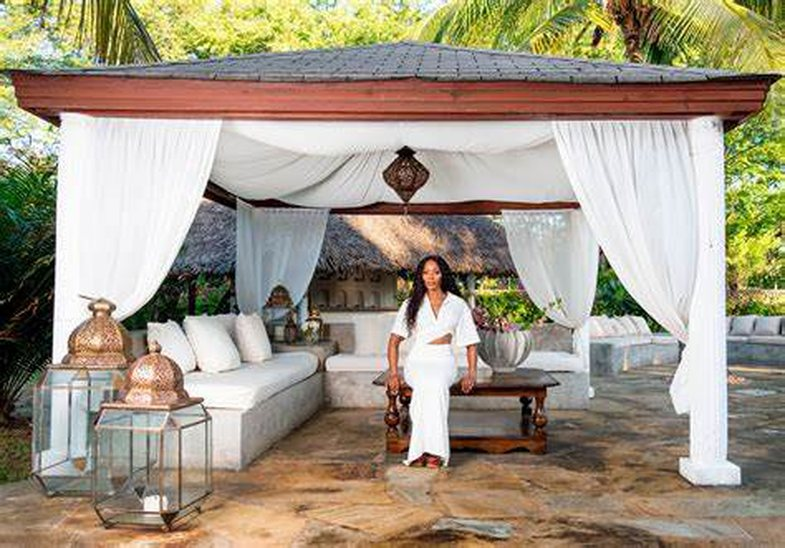 Vila luksoze e Naomi Campbell do t'ju bëjë të arratiseni