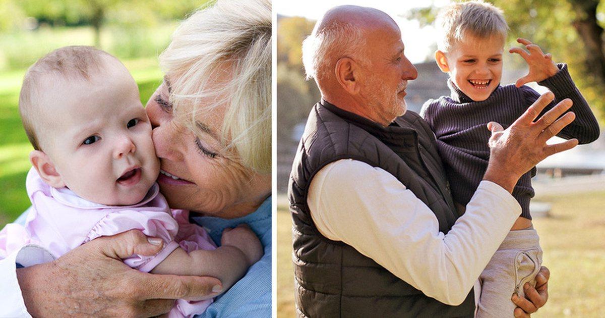 Картинки внуки правнуки дети