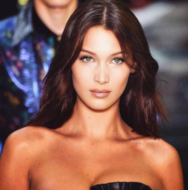 No longer the red-haired trend, Bella Hadid tells us the new color