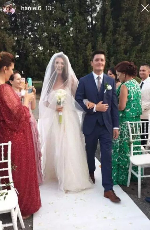 Married a former resident of Big Brother Albania, fantastic wedding photos