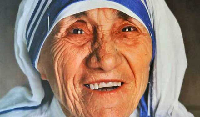 Today, 22 years since Mother Teresa's death