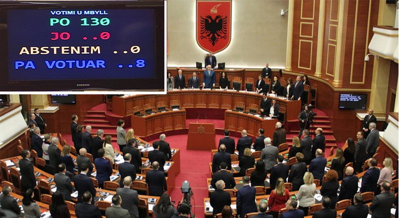 Shqipëria ratifikon protokollin Maqedonia e Veriut në NATO