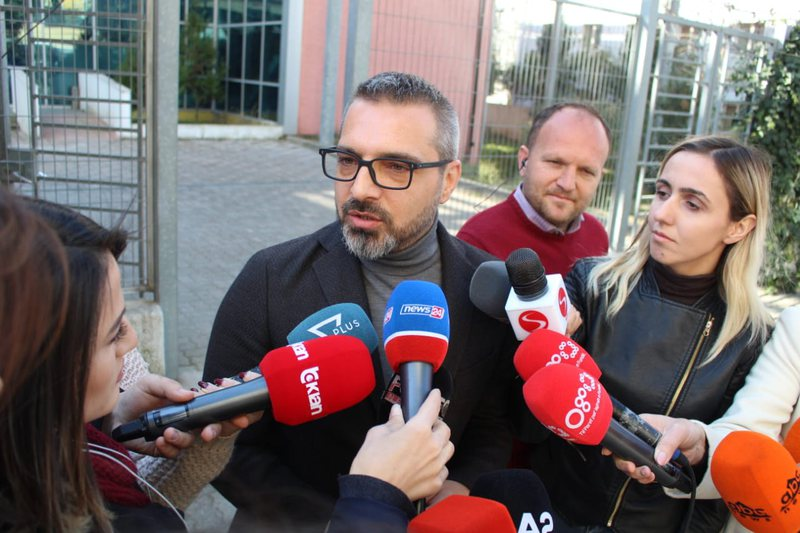 Tahiri at serious Crimes Court, Former minister informed on his official charges