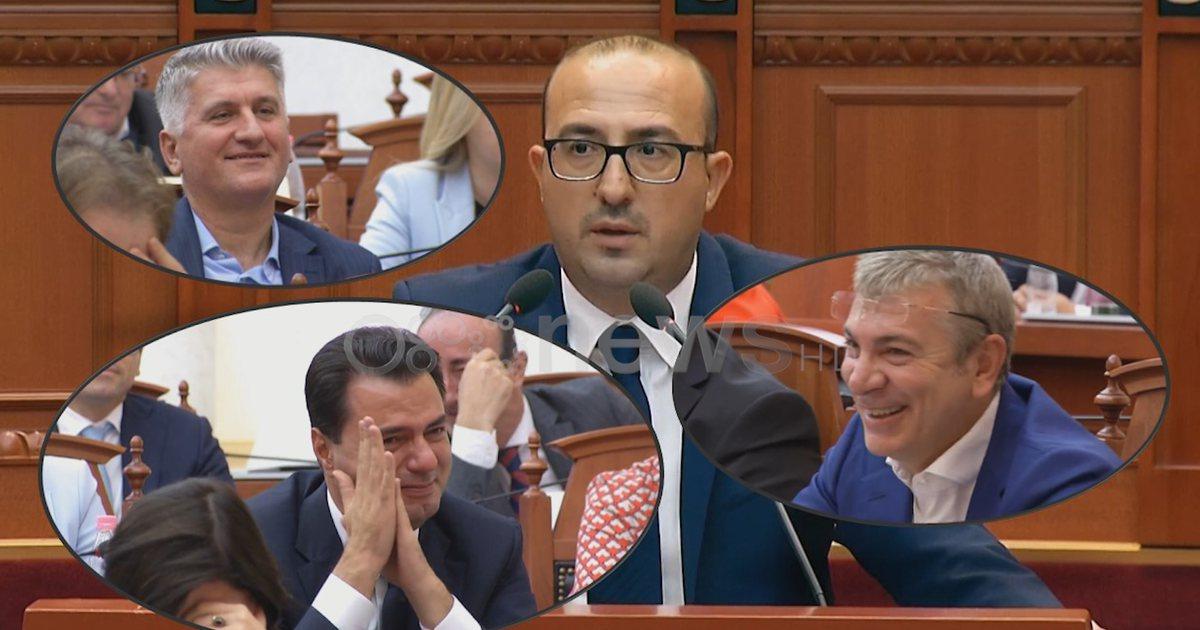 Të qeshura me 'lot' në orën 5:40, deputeti i Lushnjes zgjon sallën e  parlamentit (VIDEO) - Vendi