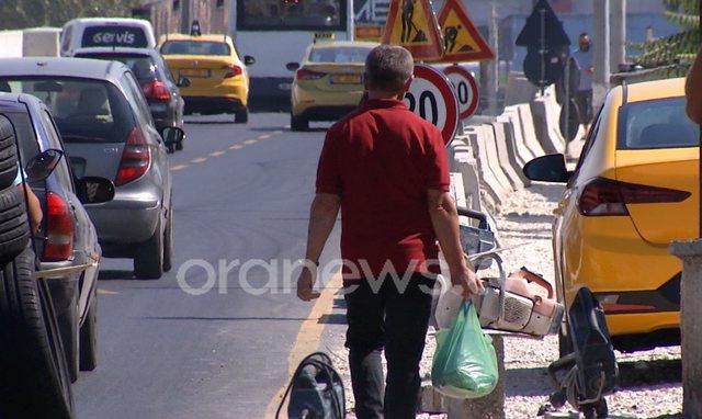 "Vëzhgimi i Ora News/ Kaos me trafikun te ""Shqiponja"","