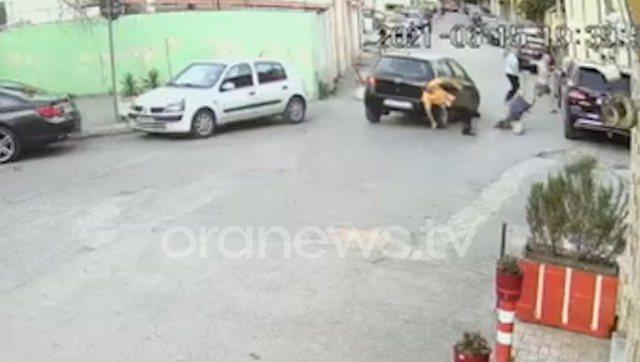 VIDEO/ Ndodhi dje në Durrës, makina  'fluturon' në