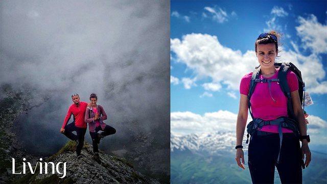 Alpinistja Arineta Mula po agjëron dhe vrapon nëpër pyje