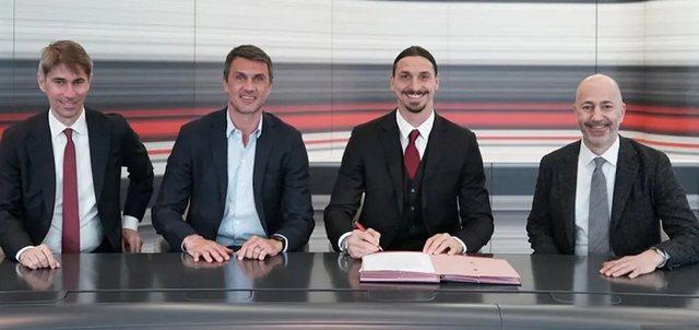 Zyrtare, Ibrahimoviç edhe një vit me Milanin