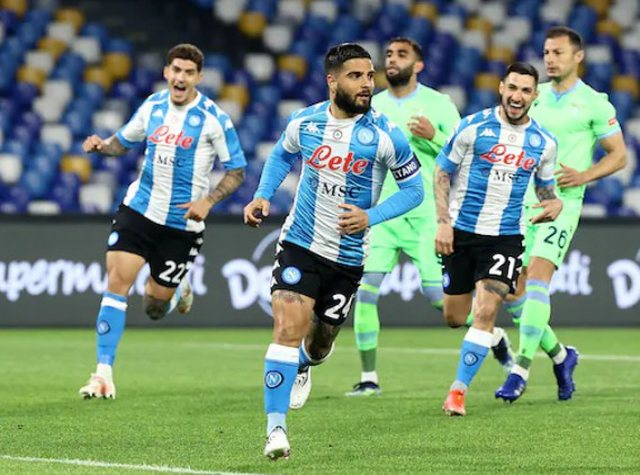 Napoli fiton festivalin e golave ndaj Lazios
