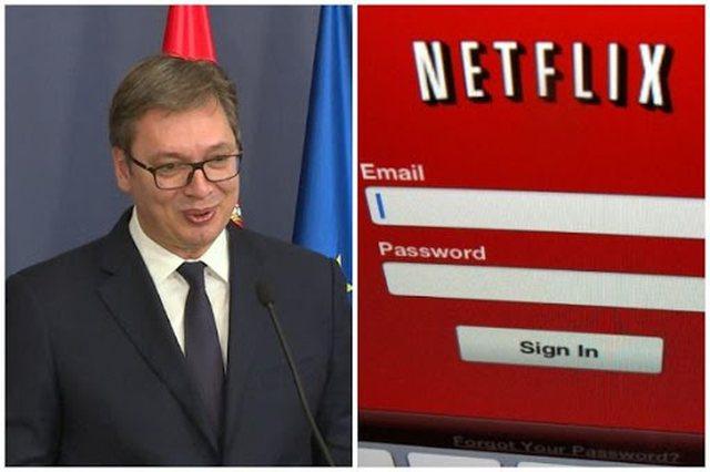 Vuçiç pas futjes së Kosovës në Netflix: