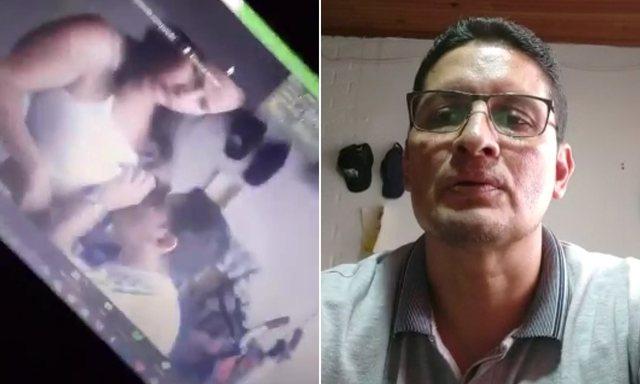 Video/ Upss! Mësuesi i fizikës harron të fikë kameran e