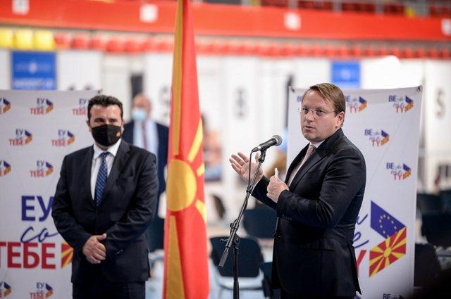 Hapja e negociatave, Komisioneri Varhelyi nuk përjashton ndarjen e