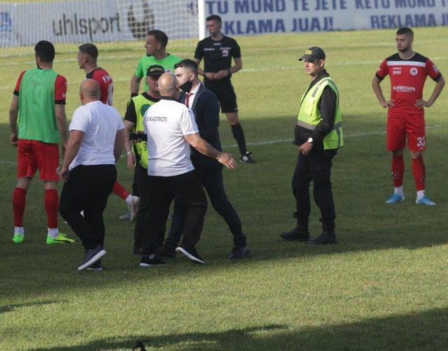 Disiplina dënon ashpër trajnerin dhe drejtuesit e Kastriotit