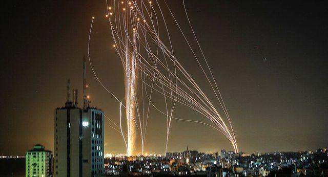 Publikohen pamjet/ Ky është momenti kur palestinezët
