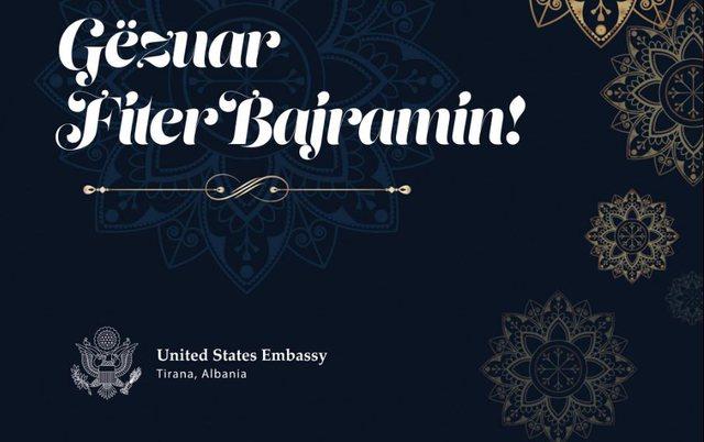 Ambasada e SHBA dhe ambasadori Soreca urojnë besimtarët
