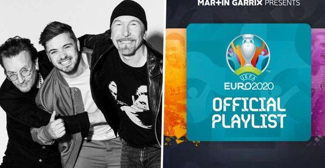Video/ Himni i Euro 2020 është gati, Dj Garrix dhe Bono Vox