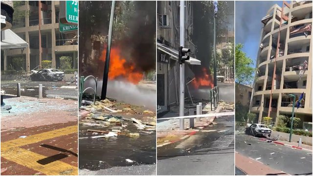 Raketat e Hamasit ranë pranë selisë së ambasadës