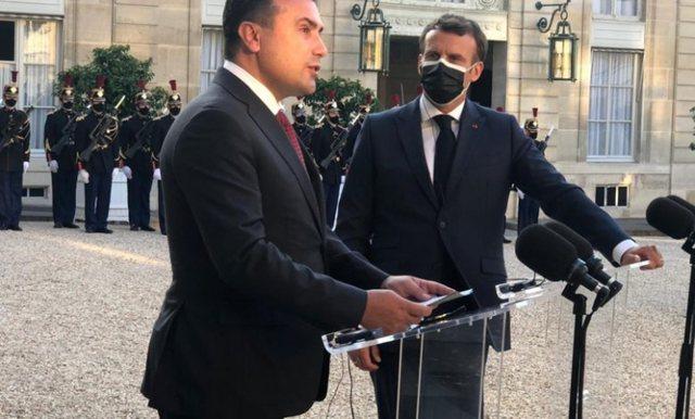Macron: Maqedonia Veriore meriton të fillojë negociatat, ne do të