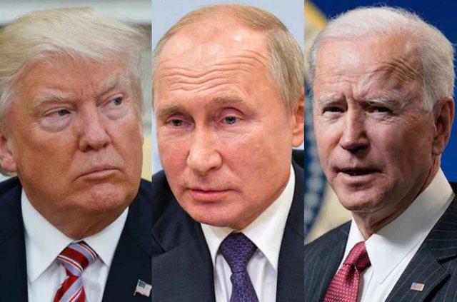 """""""Paç fat"""", Trump këshillon Biden: Mos bjer në"""